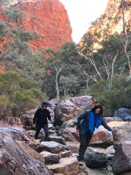 Hugh Gorge Water hole